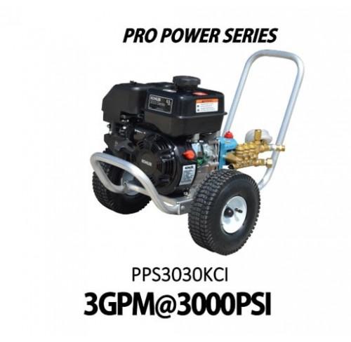 Hidrolavadora a Gasolina Domestica 3GPM de 3000PSI MOTOR KOHLER REF PPS3030KCI