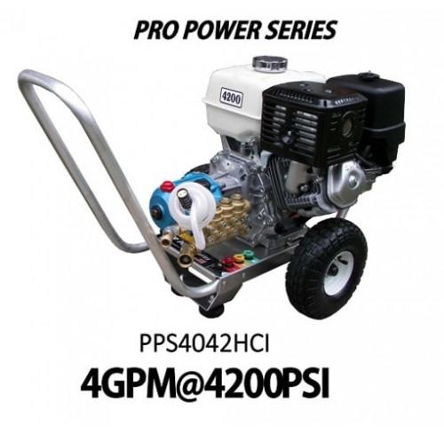 Hidrolavadora a Gasolina Domestica 4GPM de 4200PSI MOTOR LCTPP420 REF PPS4042HCI