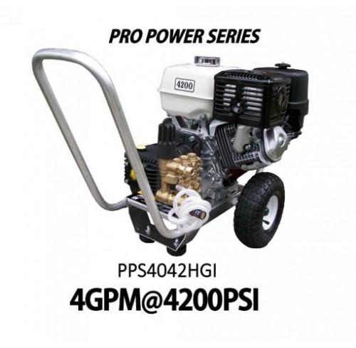 Hidrolavadora a Gasolina Domestica 4GPM de 4200PSI MOTOR HONDA REF PPS4042HGI