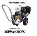 Hidrolavadora a Gasolina Domestica 4GPM de 4200PSI MOTOR HONDA REF PPS4042HG
