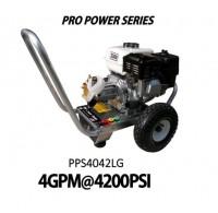 Hidrolavadora a Gasolina Domestica 4GPM de 4200PSI MOTOR LCTPP420 REF PPS4042LG