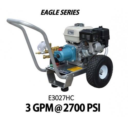 Hidrolavadora a Gasolina Agua Fria Motor Honda 2700 PSI Bomba CATPUMPS de uso Comercial REF-E3027HC