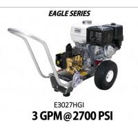 Hidrolavadora a Gasolina Agua Fria Motor Honda 2700 PSI Bomba GENERAL PUMP de uso Comercial REF-E3027HGI