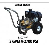 Hidrolavadora a Gasolina Agua Fria Motor kohler 2700 PSI Bomba VIPER PUMPS de uso Comercial REF-E3027KV