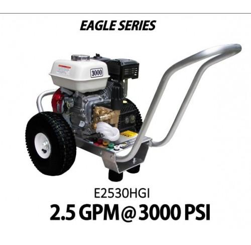 Hidrolavadora a Gasolina Agua Fria Motor Honda 3000 PSI Bomba General PUMPS de uso Comercial REF-E2530HGI