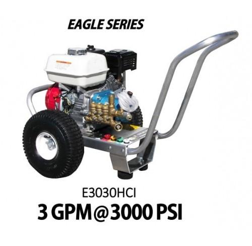 Hidrolavadora a Gasolina Motor Honda 3000 PSI Bomba CAT PUMPS de uso Comercial