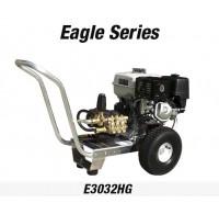 Hidrolavadora a Gasolina Agua Fria Motor Honda 3200 PSI Bomba General PUMPS de uso Comercial REF-E3032HG