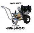 Hidrolavadora a Gasolina Agua Fria Motor Honda 4000 PSI Bomba CAT PUMP de uso Comercial REF-E4040HC