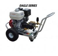 Hidrolavadora a Gasolina Agua Fria Motor Honda 4000 PSI Bomba GENERAL PUMP de uso Comercial REF-E4040HGP