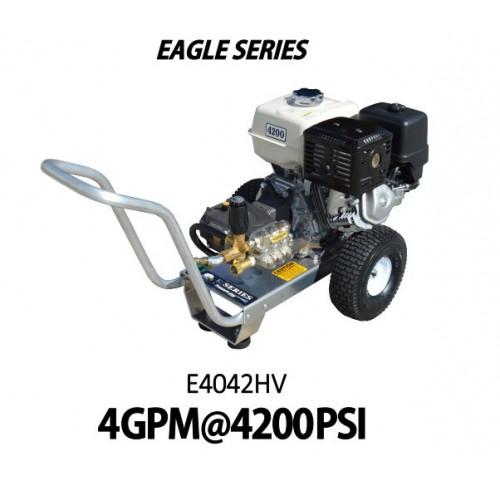 Hidrolavadora a Gasolina Agua Fria Motor Honda 4200 PSI Bomba VIPER PUMP de uso Comercial REF-E4042HV