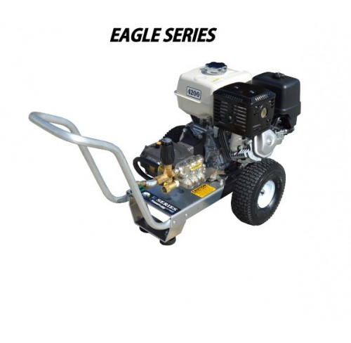 Hidrolavadora a Gasolina Agua Fria Motor kOHLER 4200 PSI Bomba VIPER PUMP de uso Comercial REF-E4042KV