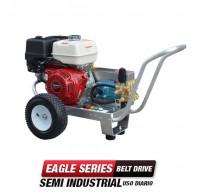 Hidrolavadora a Gasolina Agua Fria 2500 PSI Bomba CAT PUMPS Semi Industrial EB4035HC