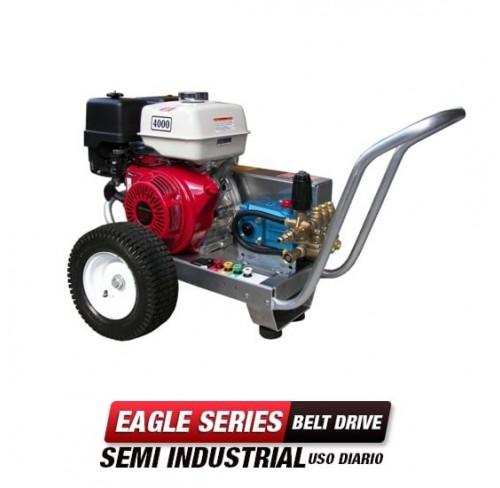 Hidrolavadora a Gasolina Agua Fria 2500 PSI Bomba CAT PUMPS Semi Industrial EB3025HC