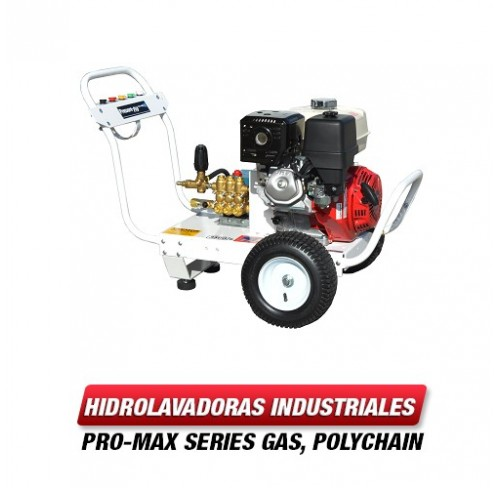 Hidrolavadora Industrial 3500 PSI Bomba CAT Pumps B4035HCP407