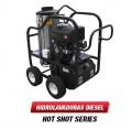 Hidrolavadora Agua Caliente Diesel 3200 PSI Bomba GENERAL PUMP 4012-15G