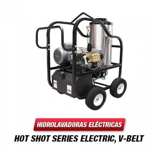 Hidrolavadora Electrica Agua Caliente 3000 PSI HP 6.0 Bomba GENERAL PUMP 4230VB-30G1