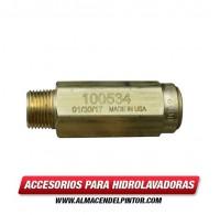Válvula de seguridad (ajustada a 4600 PSI) 100534