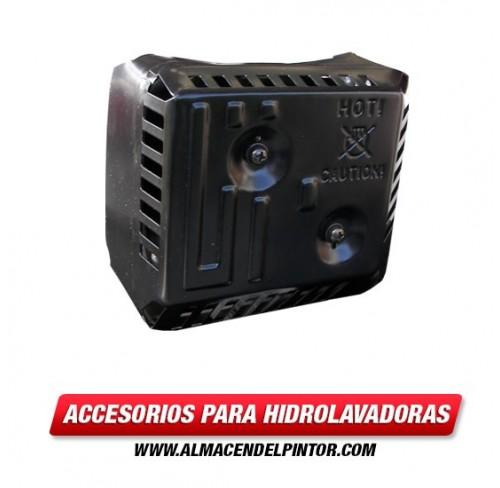 Silenciador con escudo 5.5-6.5 HP 105-709