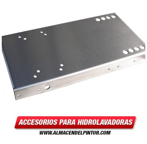 Base- acero inoxidable (10x20) (unidad directa) 1271