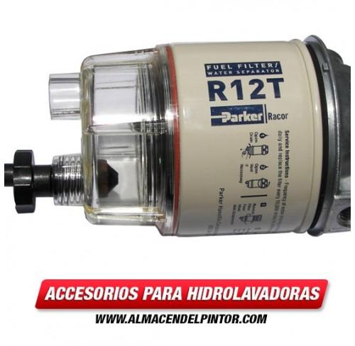 Filtro de combustible Racor 140R para hidrolavadora