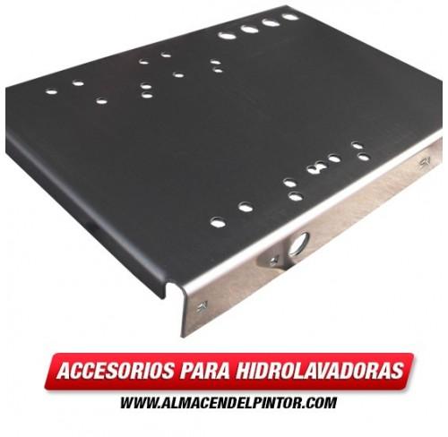 Base- Aluminio- 10 x 15 x 1/8- con 4 Agujeros 1803