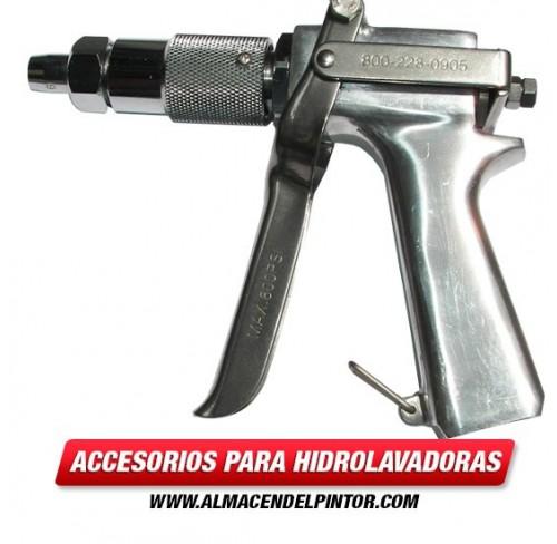 Pistola para hidrolavadora de 4000 PSI de boquilla graduable