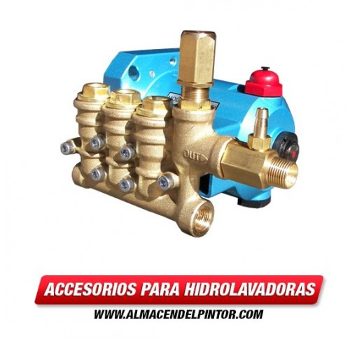 Bomba 2.5 GPM marca CAT PUMPS Hasta 3300 PSI para motor a Gasolina