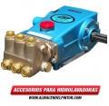 Bomba CATPUMPS para Hidrolavadora 10 GPM Presión 3000PSI eje sólido