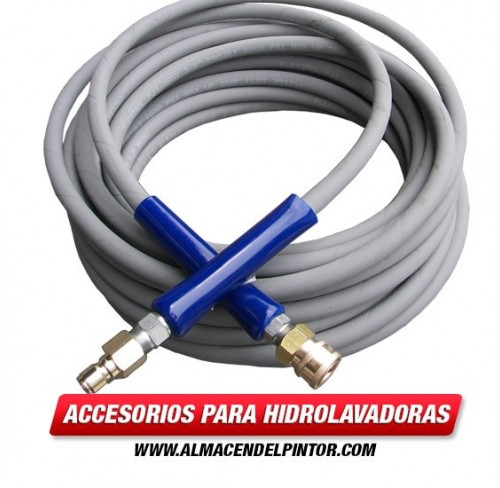 Manguera Assy w / QC 3 / 8x50 PC4000 gris