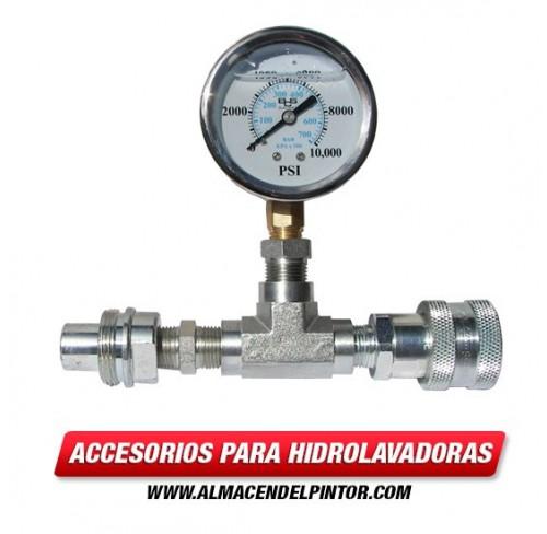 Manómetro para hidrolavadora de 10000 PSI