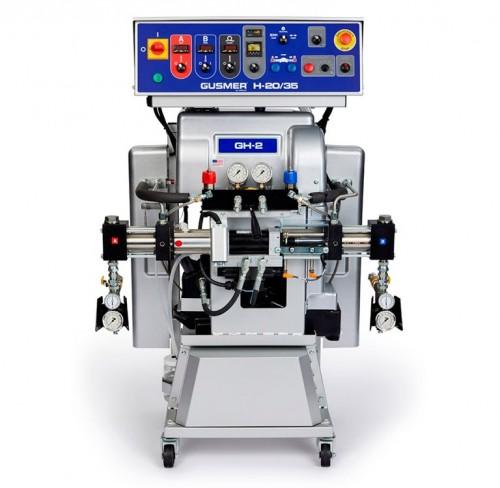 COMBO completo equipo bicomponente Gusmer GHX-2 para poliurea