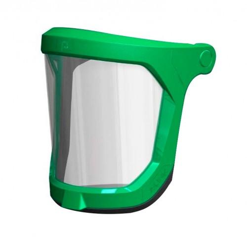 Lente Transparente Para Respirador Z-Link - No incluye marco Verde