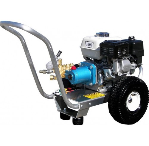 Hidrolavadora a Gasolina Agua Fria Motor Honda 3000 PSI Bomba CAT PUMPS de uso Comercial REF-E3030HCI