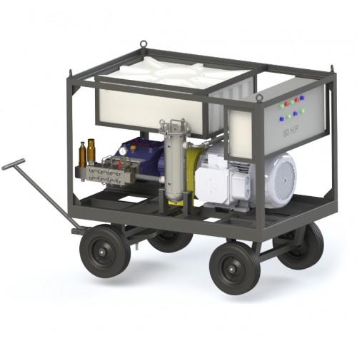 Bomba de alta presión 32 lpm 10600 psi – 60 hp