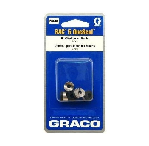 Empaques Boquilla RAC X Graco (Paquete x 5 Und)