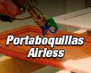 Portaboquillas para Airless de trabajo continuo