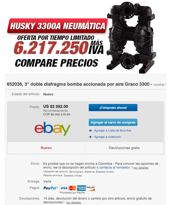 Bomba husky 3300