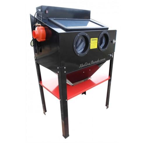 Cabina para SandBlasting de doble chorreado de arena RedLine